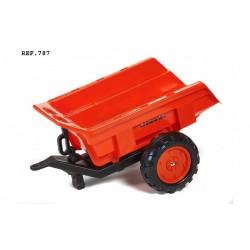 Vlečka za traktor Kubota 2-kolesová