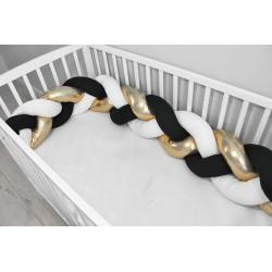 Baby Nellys Mantinel pletený vrkoč