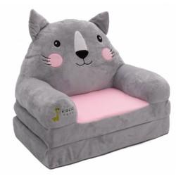 Detské kresielko rozkladacie 3v1 -  Kočka
