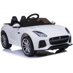 Jaguar F type/R biely
