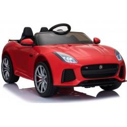 Jaguar F type/R červený