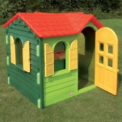 Záhradný domček zelený Little