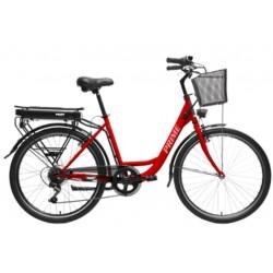 HECHT PRIME RED - elektrobicykel