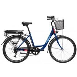 HECHT PRIME BLUE - elektrobicykel