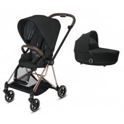Set Kombinovaný kočík Cybex Mios Seat Pack - Deep Black 2020