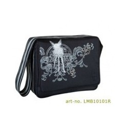 Taška Messenger Bag Casual - čierna