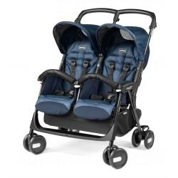 Kočík pre dvojičky Peg-Pérego Aria Shopper Twin - Cinder 2020