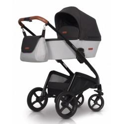 Detský kočík Euro Cart, Campo 2019 - grey fox
