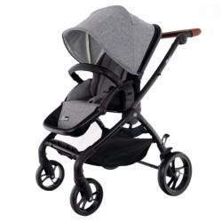 Euro Baby Detský kočík Winner 2019, šedý, hnědý, D19