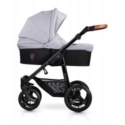 Kombinovaný kočík Venicci Gusto - Grey 2020