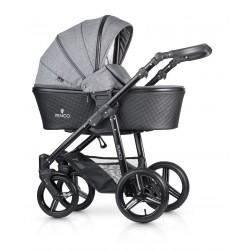 Kombinovaný kočík Venicci Shadow - Denim Grey 2020
