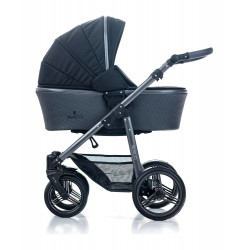 Kombinovaný kočík Venicci Carbo Lux - Black 2020