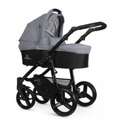 Kombinovaný kočík Venicci Soft - Denim Grey 2020