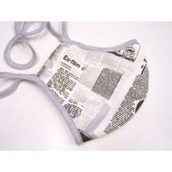 Textilné rúška, dvojvrstvové so striebrom