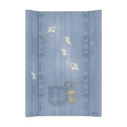 Prebaľovacia podložka Ceba 50x70cm - Denim Shabby - jeans