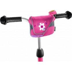 Ružová taška na riadidlá Puky - LT1