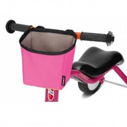 Ružový košík na riadidlá odrážadla Puky - LT3