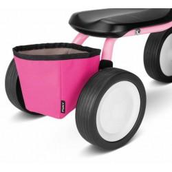Ružový košík na rám odrážadla Puky - RT1