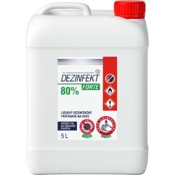 Dezinfekt Forte 5,0 l Liehový dezinfekčný prípravok na ruky