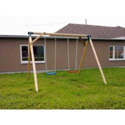 Drevené detské ihrisko + húpačka Betka