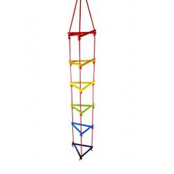 Hess Drevený trojuholníkový lanový rebrík