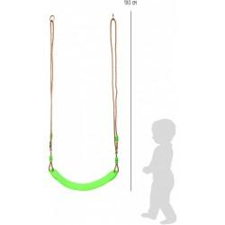 Detská hojdačka Flexi zelená