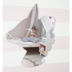 Zrkadlo Metoo na stenu - Jednorožec