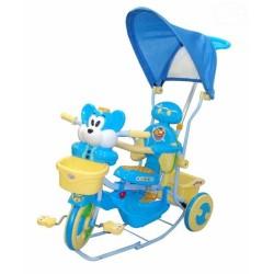 Detská trojkolka s vodiacou tyčou Myška