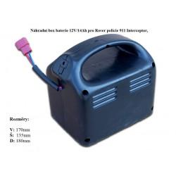 Box s batériou Rover policie Interceptor 911 s výbavou