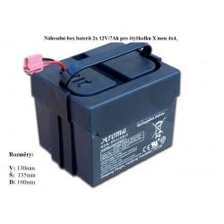 Box s batériou pre štvorkolku Xmen 4x4