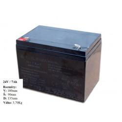 Gelová nabíjacia batéria 24V- 7Ah/ 20HR