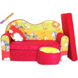 Rozkladacia sedačka tvarovaná Safari