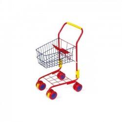 Detský Nákupný vozík červený
