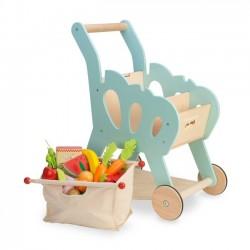 Detský drevený nákupný vozík  Le Toy Van