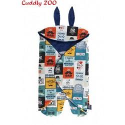 Detská zavinovačka Cuddly Zoo Táta