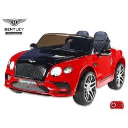 Bentley Continental Supersports s 2.4G, lakované červené, čierna kapota