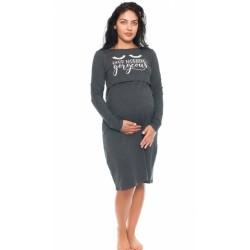 Be MaaMaa Tehotenská, dojčiaca nočná košeľa Blessed Mama