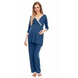 Be Maamaa Tehotenské, dojčiace pyžamo s čipkovaným lemovaním