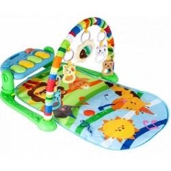Hrajúca interaktívna podložka s hrazdičkou Žirafka