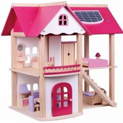 Tulimi Drevený domček pre bábiky