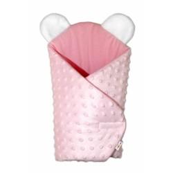 Sada pre bábiku - zavinovačka, perinka a vankúšik Minky