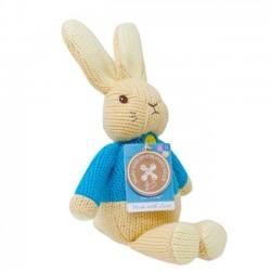 Plyšový zajačik Petr z mäkkého úpletu