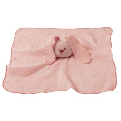 Hračka maznáčik bavlnený Lapidou old pink 44x44 cm