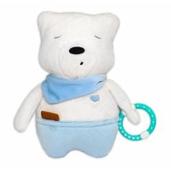 Šumiaci maznáčik Medvedík Simon 25 cm