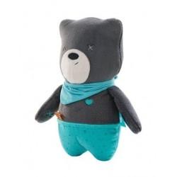 Šumiaci maznáčik Medvedík Matt 25 cm