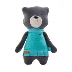 Šumiaci maznáčik Medvedík Mia 31 cm