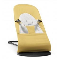 Ležadlo Soft Soft Yellow/Grey, Cotton/Jersey