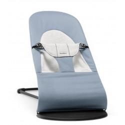 Ležadlo Soft Blue/Grey, Cotton/Jersey