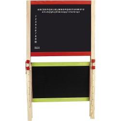 Jeujura Veľká drevená multifunkčná skladacia tabuľa