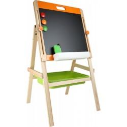 Kompaktná detská tabuľa na kriedu aj magnet